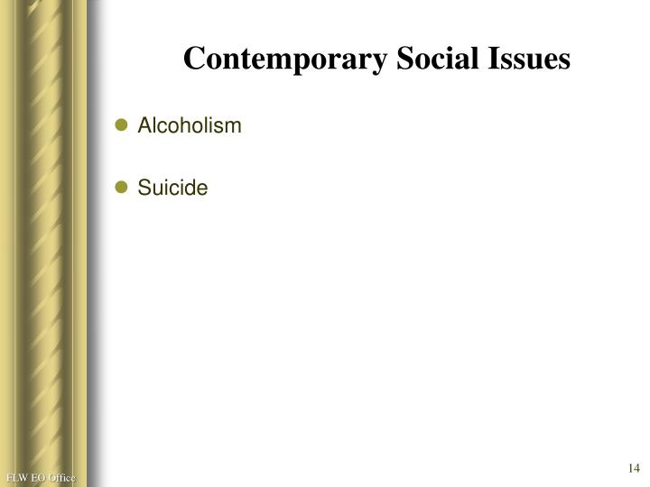 Contemporary Social Issues