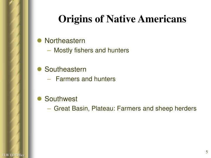 Origins of Native Americans