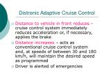 distronic adaptive cruise control2