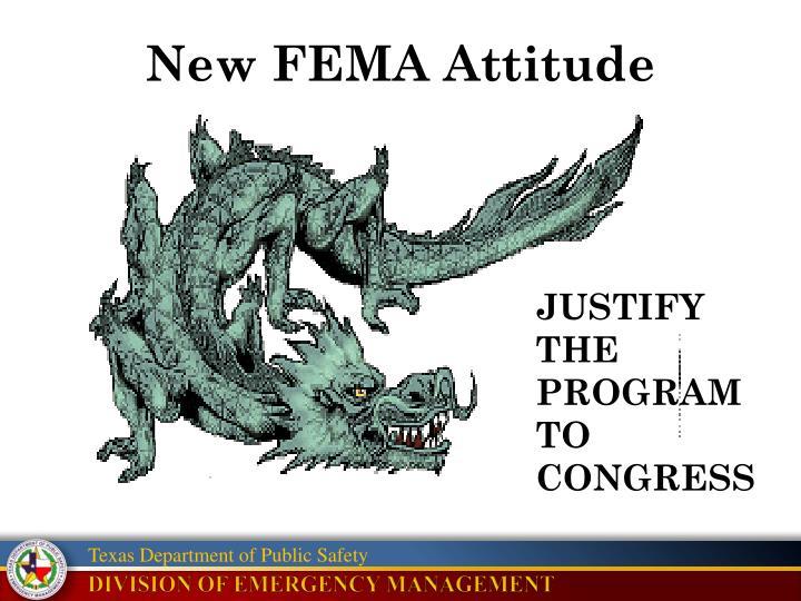New FEMA Attitude
