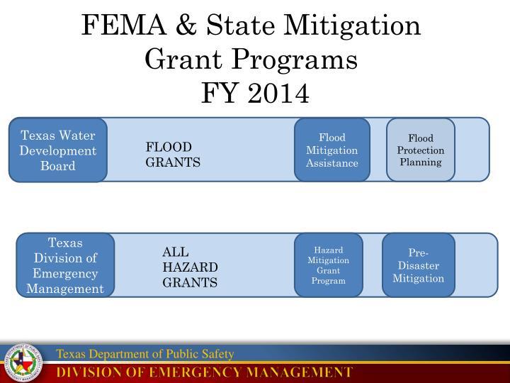 FEMA & State Mitigation