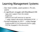 learning management s ystems
