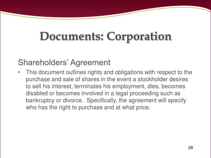 Documents: Corporation