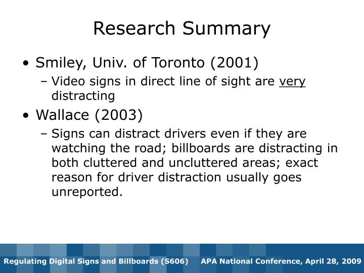 Smiley, Univ. of Toronto (2001)