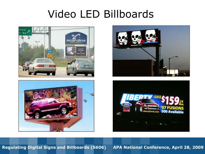 Video LED Billboards
