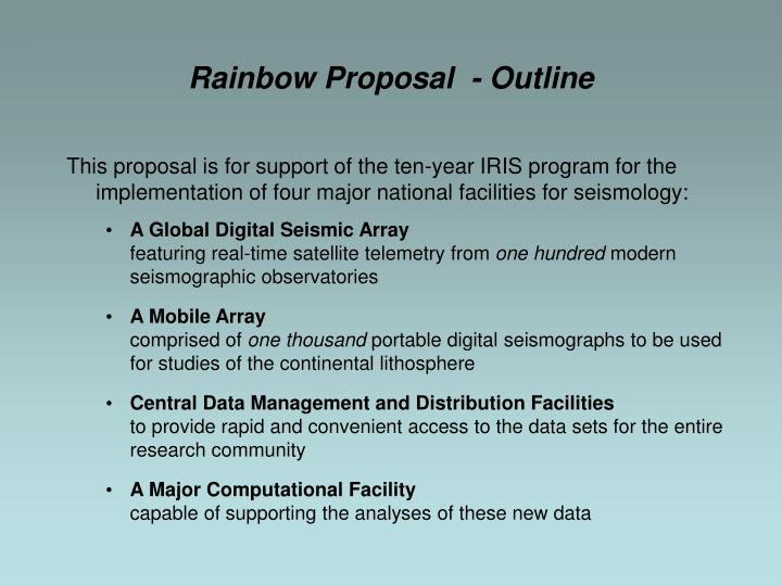 This proposal is for support of the ten-year IRIS program for the implementation of four major national facilities for seismology: