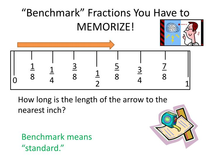 """""""Benchmark"""" Fractions You Have to MEMORIZE!"""