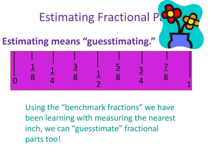 Estimating Fractional Parts