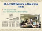 minimum spanning tree21
