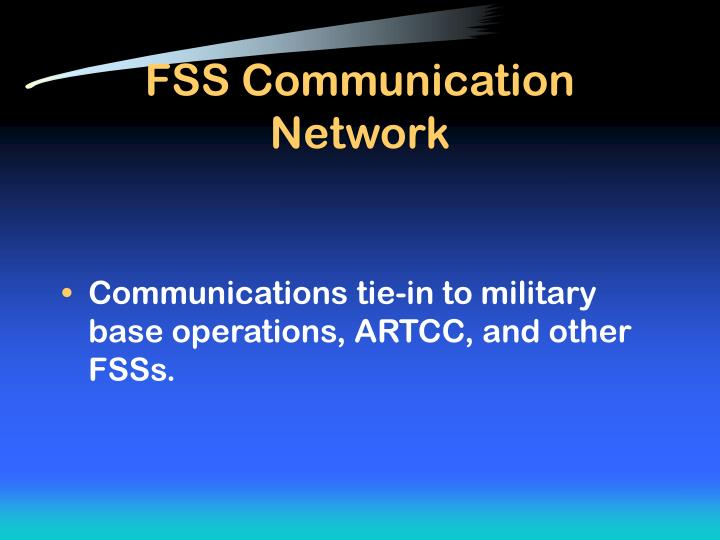 FSS Communication Network
