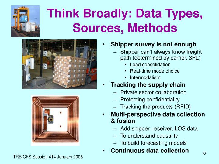 Think Broadly: Data Types, Sources, Methods