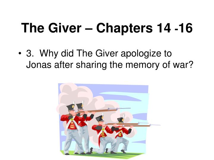 The Giver – Chapters 14