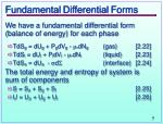 fundamental differential forms