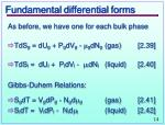 fundamental differential forms1