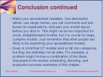 conclusion continued1