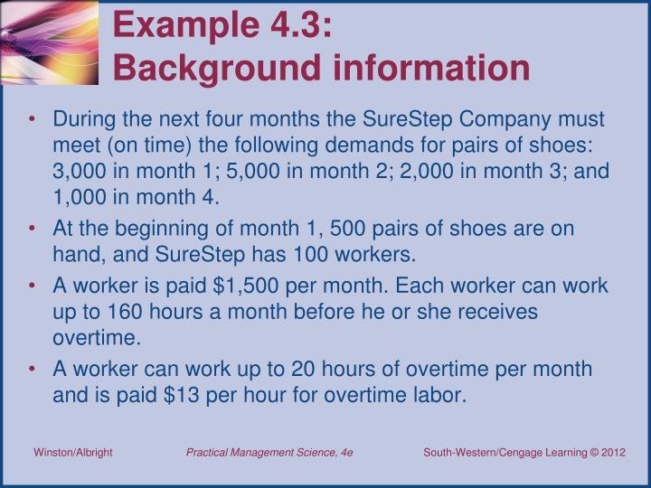 Example 4.3:
