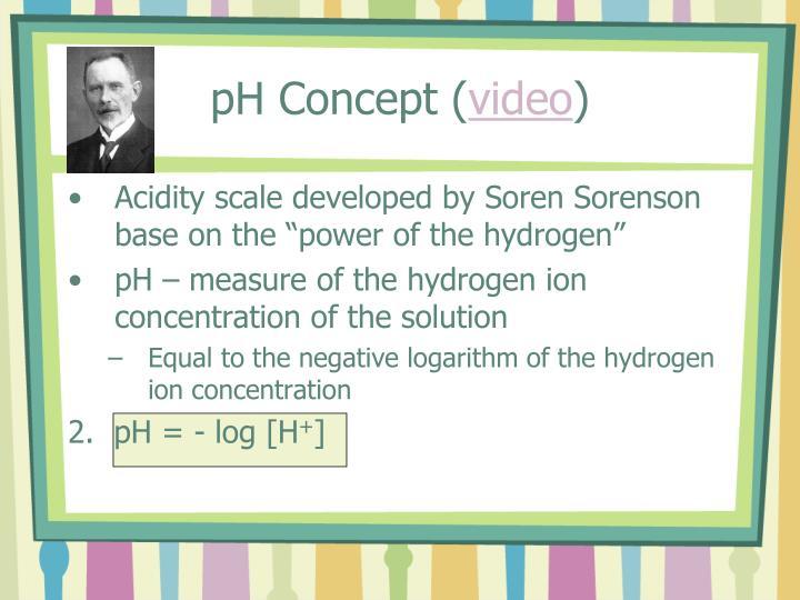 pH Concept (