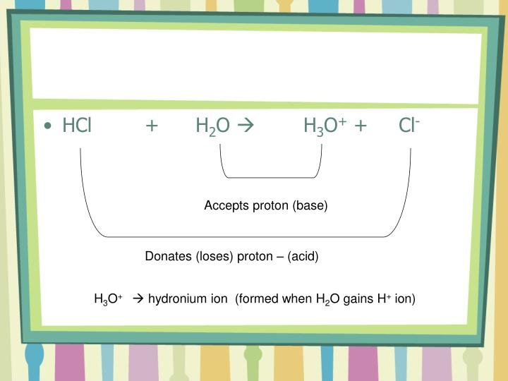 HCl +H