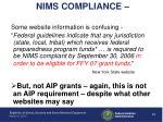 nims compliance