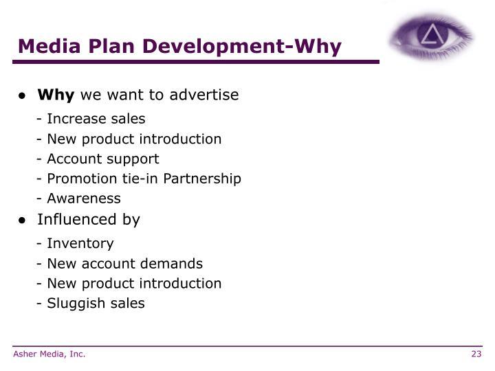 Media Plan Development-Why