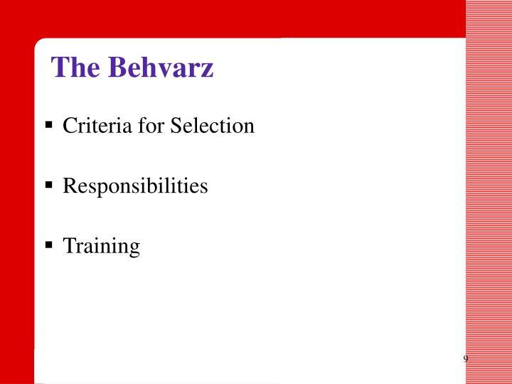 The Behvarz