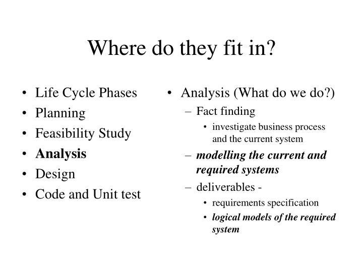 Analysis (What do we do?)