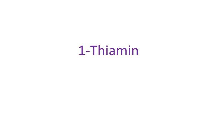 1-Thiamin