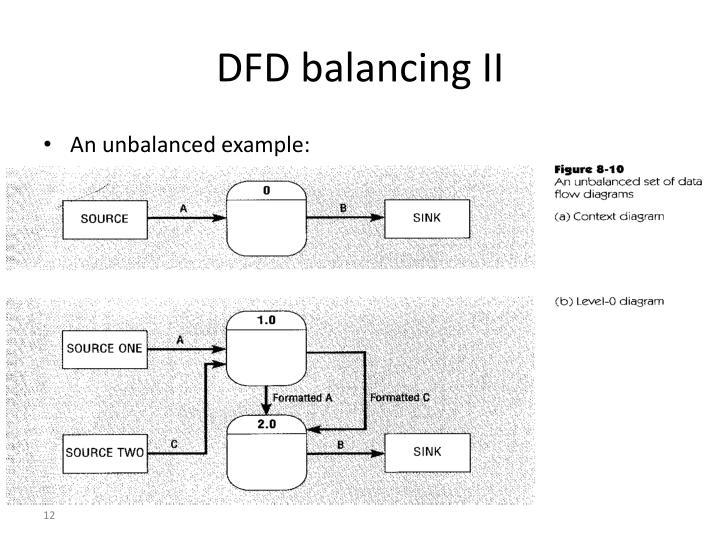 DFD balancing II