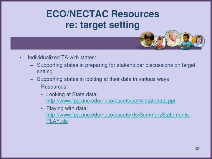 ECO/NECTAC Resources