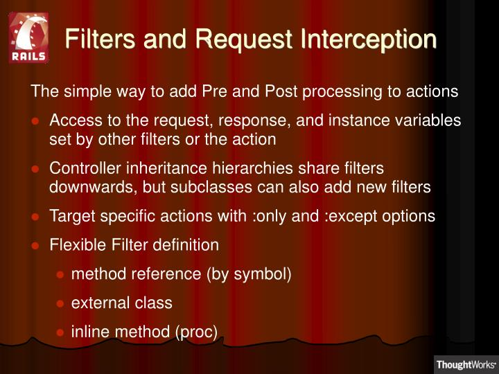 Filters and Request Interception