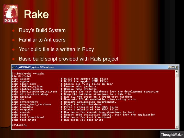 Ruby's Build System