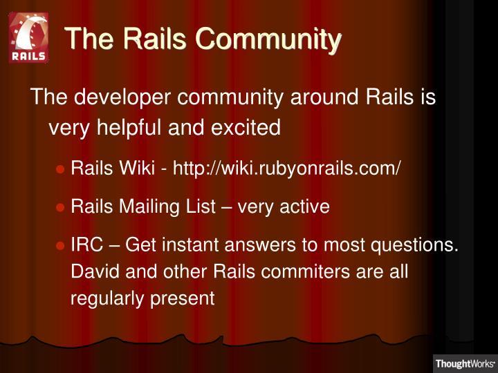 The Rails Community