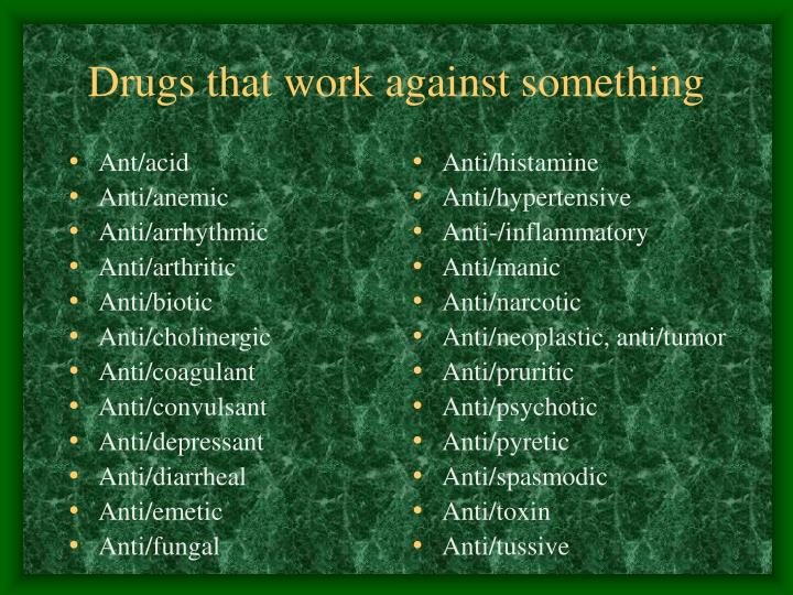 Ant/acid
