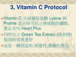 3 vitamin c protocol