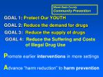 goal 2 reduce the demand for drugs2