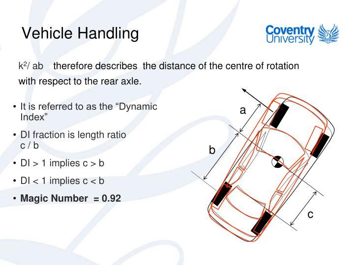 Vehicle Handling