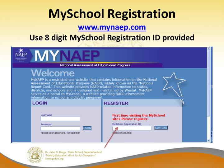 MySchool Registration