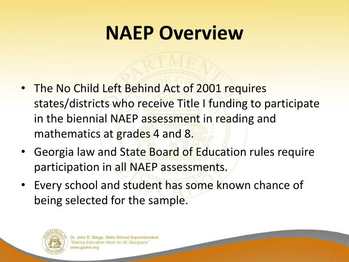 NAEP Overview