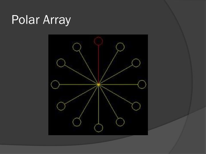Polar Array