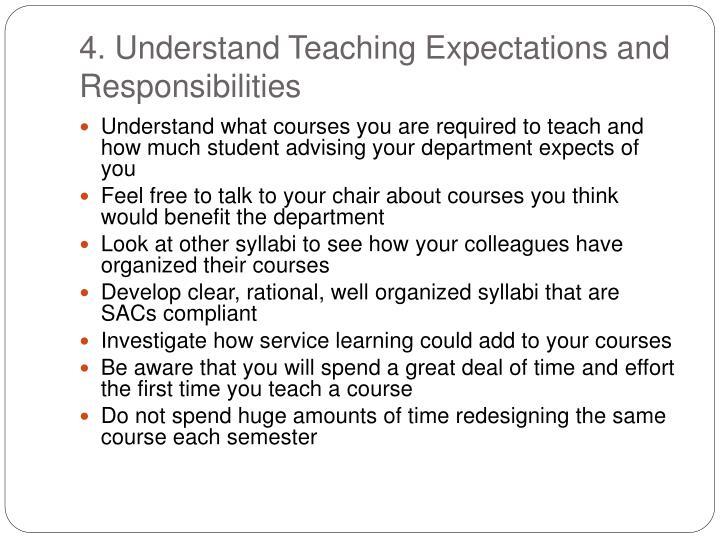 4. Understand