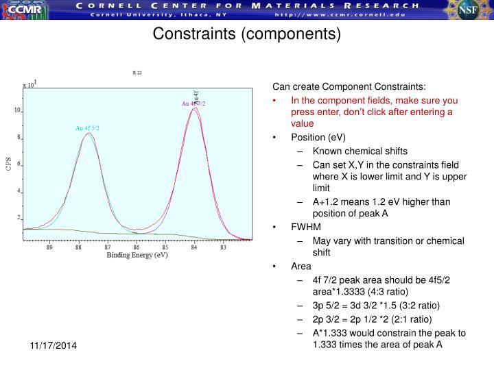 Constraints (components)