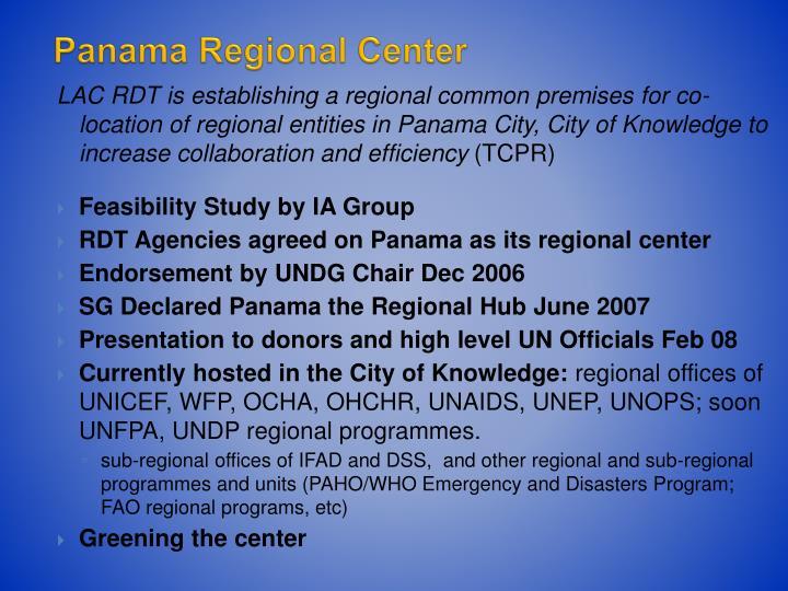 Panama Regional Center