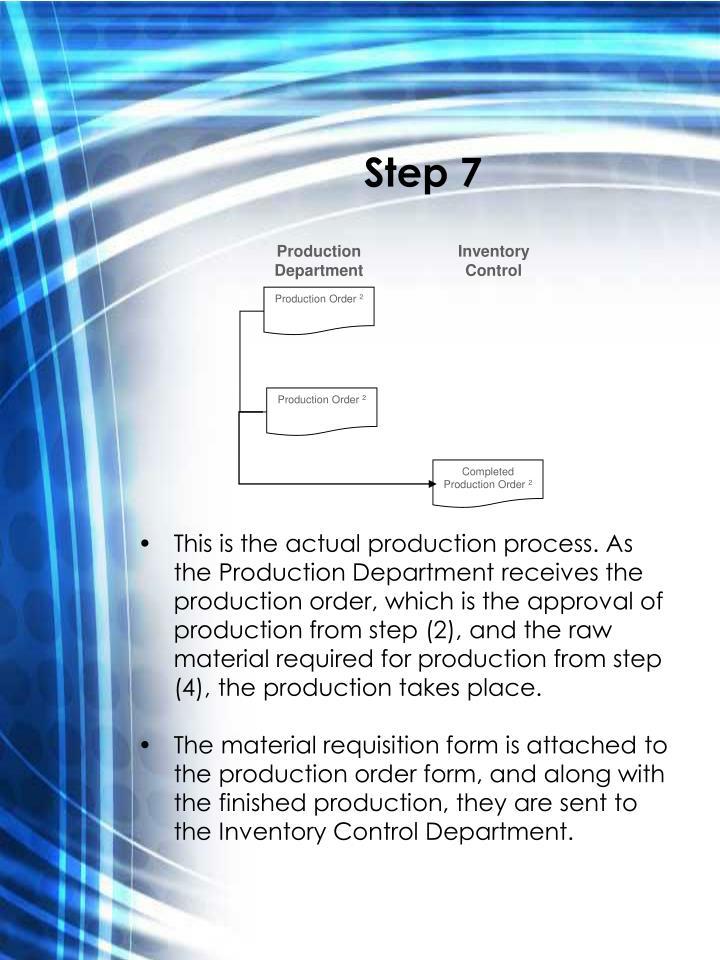 Production Department