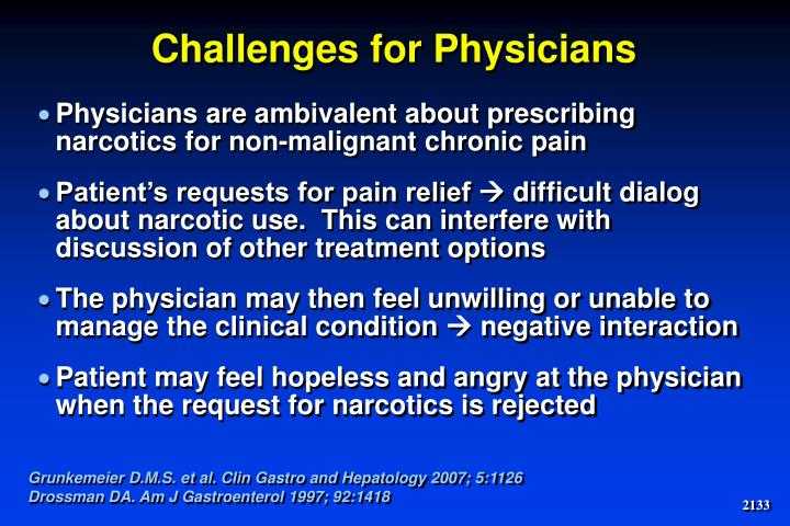 Challenges for Physicians