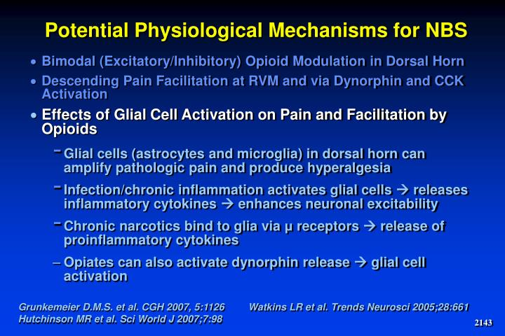 Potential Physiological Mechanisms for NBS