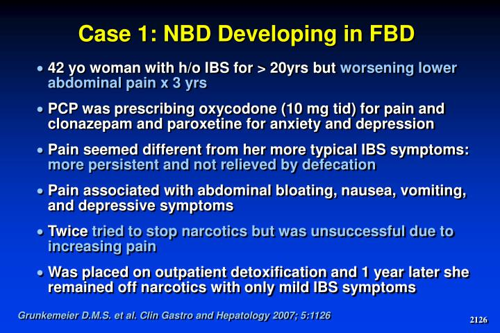 Case 1: NBD Developing in FBD