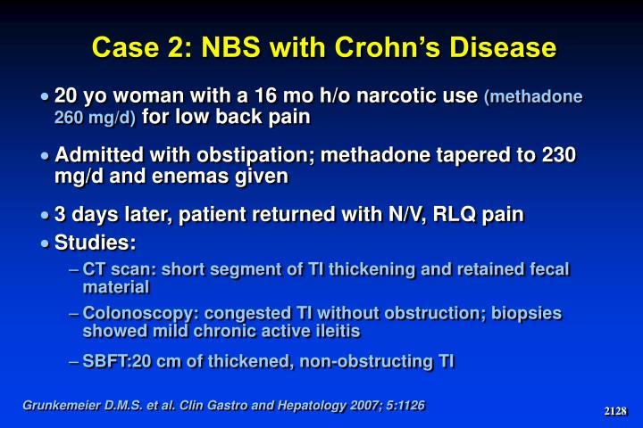 Case 2: NBS with Crohn's Disease