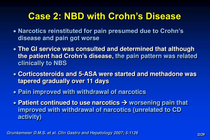Case 2: NBD with Crohn's Disease