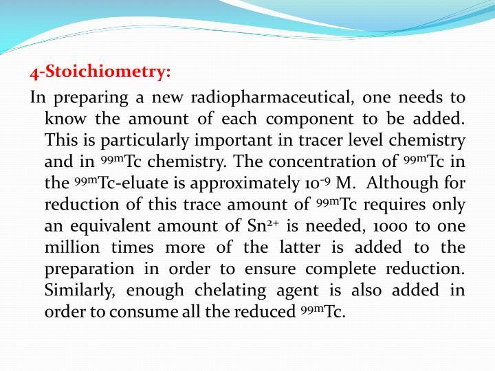 4-Stoichiometry: