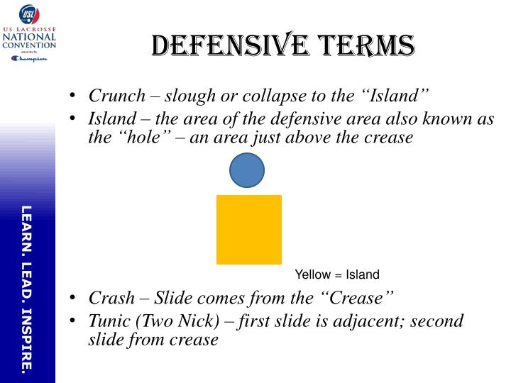 Defensive terms